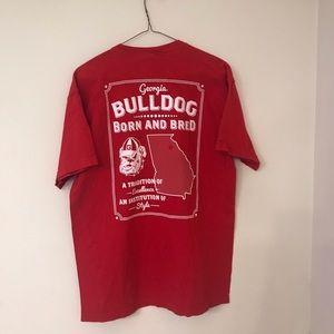 University of Georgia Bulldogs Tee Shirt